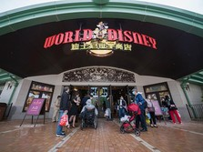 Penampakan Disneyland Shanghai yang Dibuka Lagi Pasca Corona