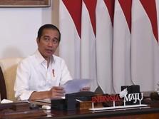 Dengan Nada Tinggi, Jokowi Tegaskan tak ada Pelonggaran PSBB!