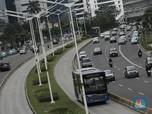 Penampakan Jalan Jakarta Ramai Lancar, Sudah Siap New Normal?