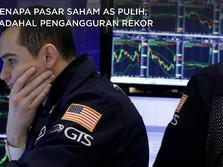 Paradoks! Pasar Saham AS Pulih, Pengangguran Rekor 20 Juta