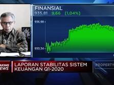 OJK: Volatilitas Pasar Global Mulai Turun di Bulan April