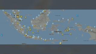 Lalin Udara RI Ramai Usai Larangan Terbang Domestik Dicabut