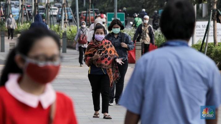 Ilustrasi Pulang Kerja (CNBC Indonesia/ Andrean Kristianto)