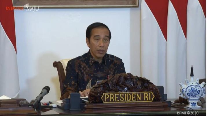 Jokowi. Foto: Youtobe Sekretariat Presiden