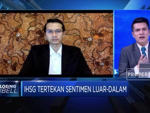 Sektor Perbankan Melemah, IHSG Ditutup Terkoreksi 1,09%