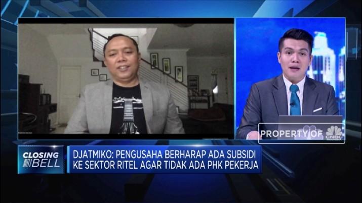 Toko Setop Beroperasi, ERAA Harapkan Ada Subsidi Cegah PHK (CNBC TV )