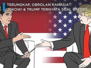 Terungkap, Obrolan Rahasia Jokowi-Trump Ternyata Soal Brebes