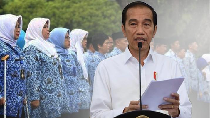 Topik/Jokowi Rombak Aturan PNS_dalam /Aristya Rahadian Krisabella