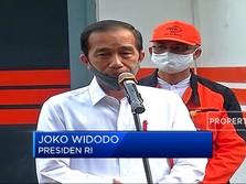 Tinjau Penyaluran Bansos di Bogor, Ini Pesan Jokowi