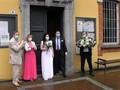 VIDEO: Lockdown Longgar, Pasangan Italia Gelar Pernikahan
