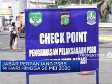 Jawa Barat Perpanjang PSBB Hingga 26 Mei 2020