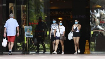 Diterjang Covid 19 Ini Penampakan New Normal Singapura