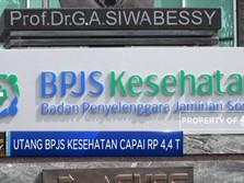 Utang BPJS Kesehatan Jatuh Tempo Capai Rp 4,4 Triliun