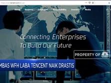 Laba Tencent Melejit Akibat Work From Home