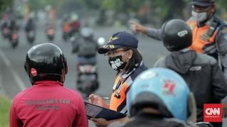 Hari ke-1 PKM Denpasar, Macet di Pos dan 27 Kendaraan Dihalau