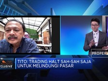 Tito Sulistio: Intervensi Pasar Modal Sebaiknya Dibatasi