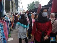 PSBB Nothing! Viral Pengunjung Membeludak di Pasar
