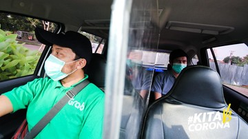 Hadapi New Normal 5 000 Grabcar Protect Mengaspal Di Jalanan