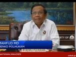 Saat Mahfud MD Yakin 99% Indonesia Resesi Bulan Depan