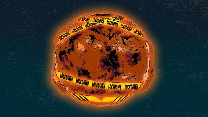 Infografis: Fenomena Matahari Lockdown & Ancaman Kelaparan Warga di Bumi