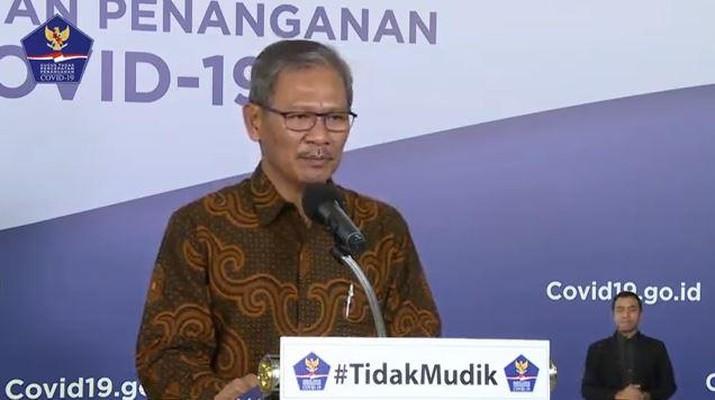 Achmad Yurianto, Juru Bicara Kemenkes (BNPB)