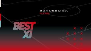INFOGRAFIS: BEST XI Bundesliga Pekan Ini, Dortmund Dominan