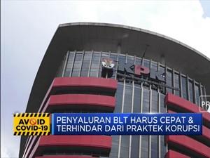 Jokowi: KPK, BPK, Kejaksaan Harus Kawal Program BLT
