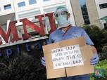 Dirumahkan, Puluhan Tenaga Medis Demo di RS OMNI Alam Sutera