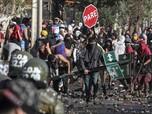 Lapar, Warga Miskin Chile Bentrok di Tengah Lockdown