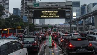 465 Ribu Kendaraan Keluar dari Jakarta Sejak 17 Mei 2020
