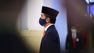 Jokowi Rayakan Idulfitri di Istana Bogor