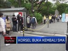 Corona Mereda, Korea Selatan Buka Kembali Sekolah