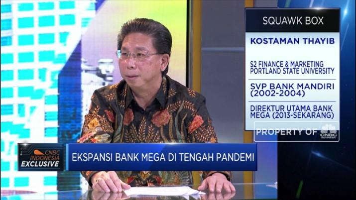 Bank Mega: Restrukturisasi Kredit Capai Rp,5,4 T, Mayoritas UMKM(CNBC TV )