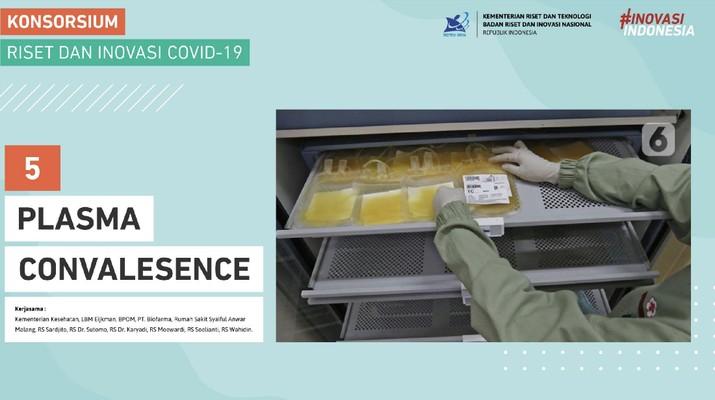 Konsorsium Riset dan Inovasi Covid-19. Dok: Kemenkes