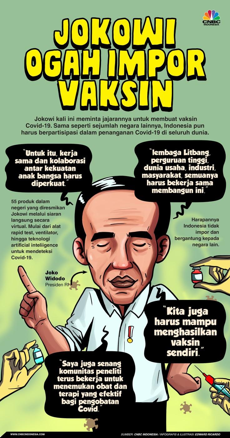 Infografis, Indonesia Harus Mampu Hasilkan Vaksin Sendiri