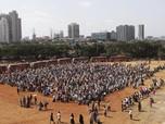 Gak Cuma RI, Warga India Abaikan Social Distancing Demi Mudik