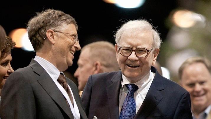 Gates dan Buffett/Nati Harnik/AP Images