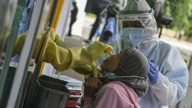 Sekitar 800 Pedagang Pasar Antri Cimahi Akan Tes Corona