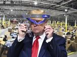 Geger Dunia Persilatan, Donald Trump Pakai Masker
