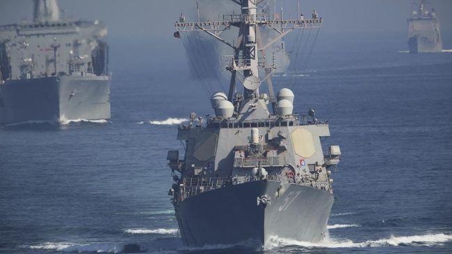 Kapal Perang AS Dekati Pangkalan Militer China, Ad