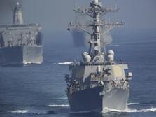 Kapal Perang AS Dekati Pangkalan Militer China, Ada Apa?