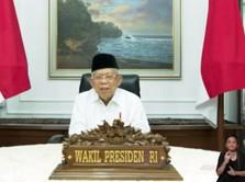 Ma'ruf Amin: Merger 3 Bank Syariah Jadikan RI Pemain Global