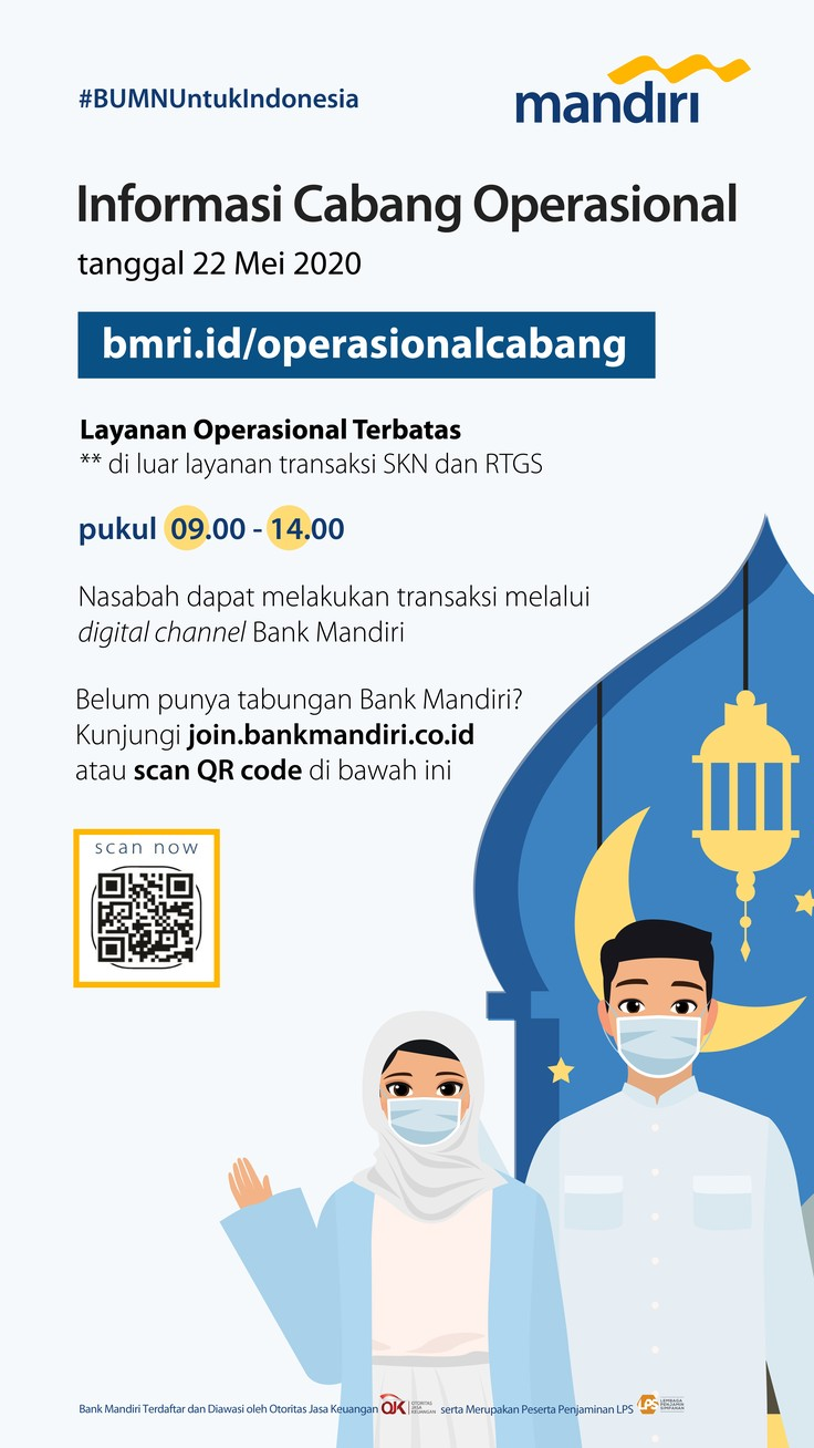 Infografis/Mandiri Informasi cabang Operasional/Dok.Bank Mandiri