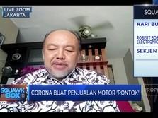 Merana Karena Corona, AISI: Penjualan Motor Anjlok 75%