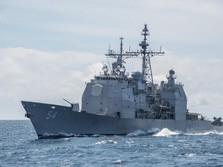 3 Kapal Perang AS Latihan Tempur di Laut China Selatan