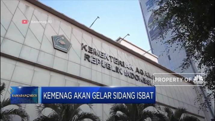 Kemenag Gelar Sidang Isbat Hari Ini (CNBC Indonesia TV)