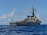 Laut China Selatan Panas, Tentara China Usir Kapal Perang AS
