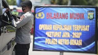 Daftar Lokasi Cegat Warga Tanpa Izin Masuk Jakarta