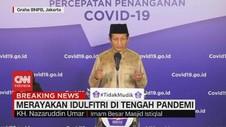 VIDEO: Imam Besar Masjid Istiqlal Soal Idulfitri Saat Pandemi