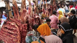 Lebaran, Harga Daging Sapi Tembus Rp 160 Ribu per Kg
